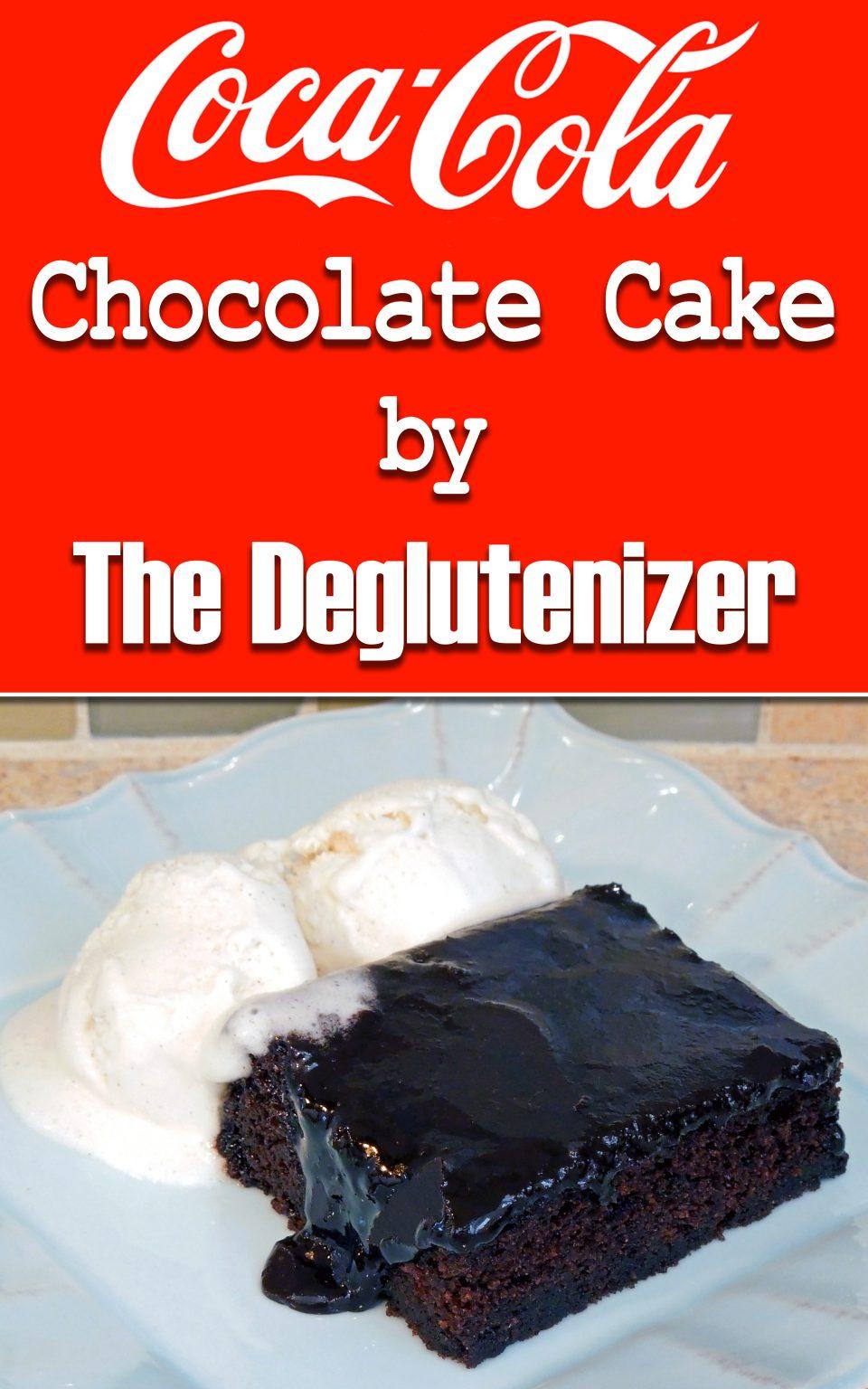 Gluten Free Chocolate Coca Cola Cake Recipe